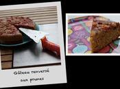 Gâteau renversé prunes