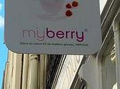Paris l'été fondre pour yaourt glacé