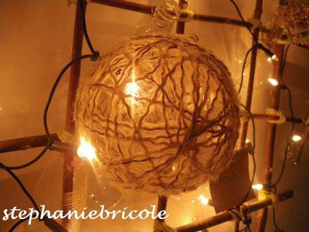 Diff rents tutos pour faire une boule de no l le blog - Fabriquer des boules de noel ...