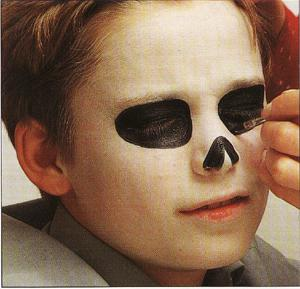 Un maquillage pour Halloween