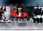 nouveau site pour Lanvin