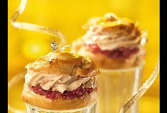 Recette ap ritif amuse bouche pour vos f tes mini chou for Amuse bouche foie gras aperitif