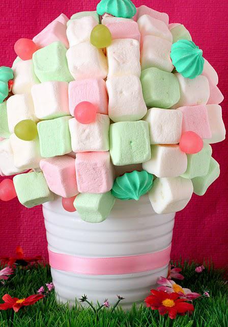 Tutoriel la plante bonbons paperblog - Idee paquet bonbon pour anniversaire ...