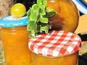 Confiture mirabelle citronnelle