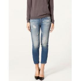 Tendance mode : le jean un peu troué (mais pas trop). vous aimez ?