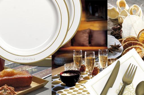 et si vous utilisiez de la vaisselle jetable pour no l et pour votre r veillon lire. Black Bedroom Furniture Sets. Home Design Ideas