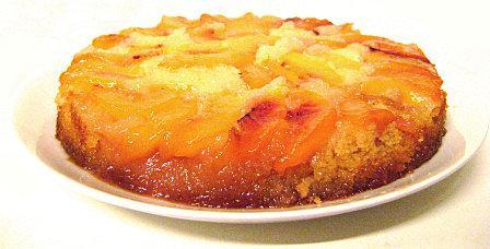 Gâteau Renversé aux Nectarines 2