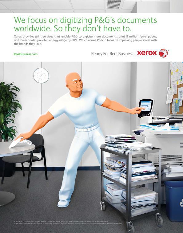 XEROX – à vos côtés dans vos défis.