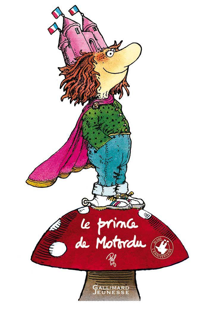 Livre enfants :: le prince de motordu nous en met plein les yeux!