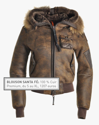 parajumpers homme cuir