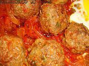 Boulettes viande hachée légumes