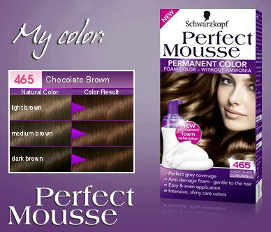 perfect mousse schwarzkopf - Shampoing Colorant Schwarzkopf