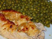 Escalope dinde gratinée four
