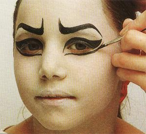 Maquillage sorci re fille - Maquillage enfant sorciere ...