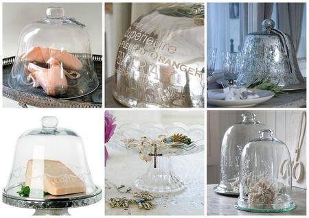 promo cloches en verre clair ou mercuris e paperblog. Black Bedroom Furniture Sets. Home Design Ideas