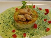 Flan cresson cuisses grenouille