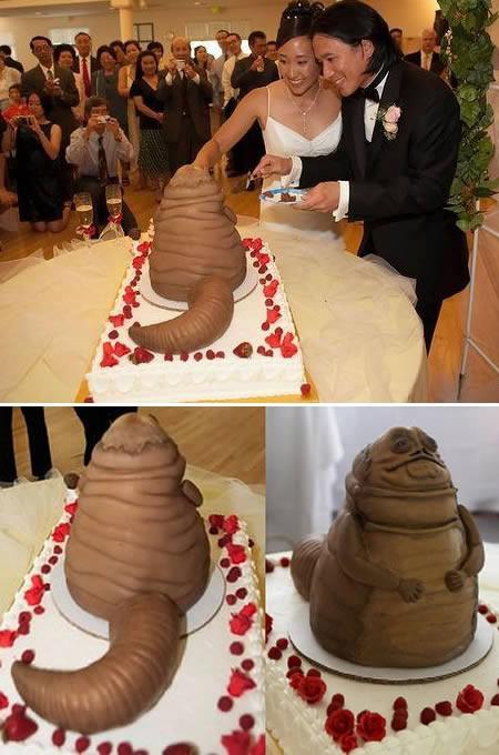 des gâteaux de mariage très insolites!  paperblog