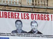 Stéphane Taponier Hervé Ghesquière otages depuis jours