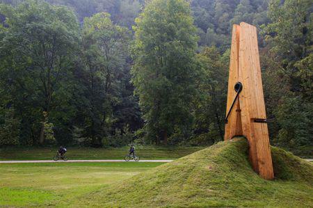 Une pince à linge Chaudfontaine en Belgique - 2
