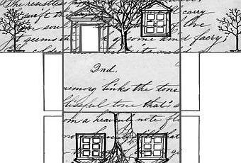 petite maison de no l imprimer paperblog. Black Bedroom Furniture Sets. Home Design Ideas
