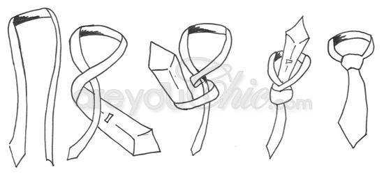 tout sur les noeuds de cravate paperblog. Black Bedroom Furniture Sets. Home Design Ideas