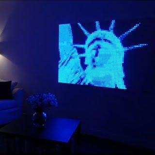 creadots des tableaux lumineux design personnalisables paperblog. Black Bedroom Furniture Sets. Home Design Ideas