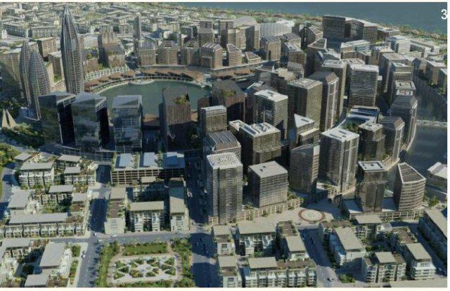 Construction City Centre Ville Niveau