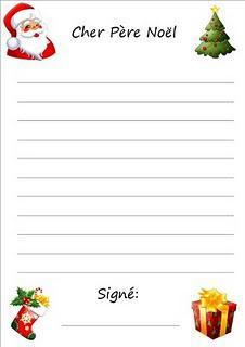 Santa claus cover letter
