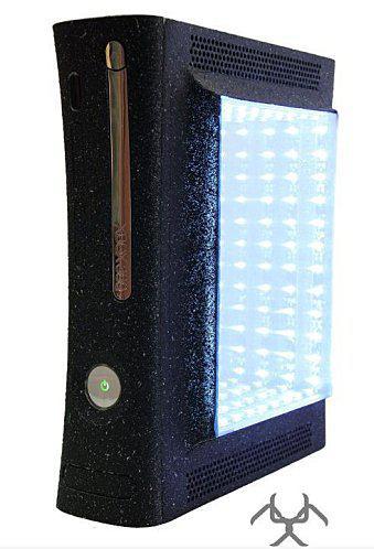 C 39 est le week end une xbox 360 des leds une porte for Porte xboxlive