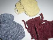 Tricoter moufles sans pouce.