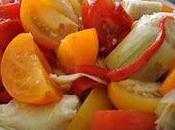 Salade tomates soleil
