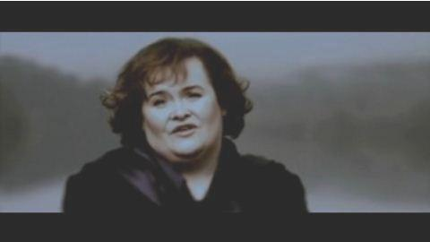 Susan Boyle ... Regardez Perfect Day, son premier clip