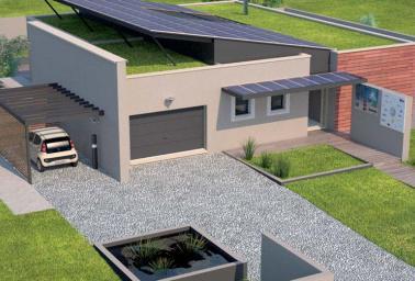 une maison z ro nergie et z ro co2 par maisons france confort d couvrir. Black Bedroom Furniture Sets. Home Design Ideas