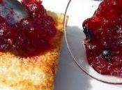 Confiture Canneberges (cranberries)