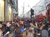 Londres voie rapide pour piétons pressés