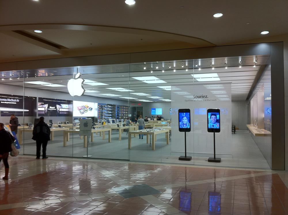 Visitez un Apple Store pour magasiner Mac, iPhone, iPad, Apple Watch et plus. Inscrivez-vous à des activités Today at Apple. Ou obtenez de l'aide au Genius Bar/10().