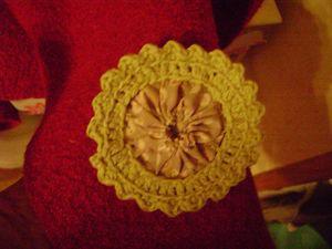 7bf66dcb6b3b Un ensemble béret, écharpe customisé au crochet - Paperblog