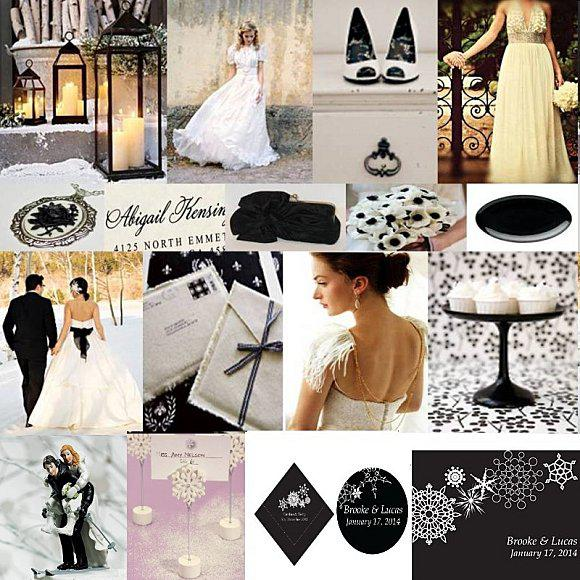 mariage noir et blanc theme. Black Bedroom Furniture Sets. Home Design Ideas