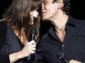 Carla Bruni l'Olympia,duo avec Marc Lavoine. Vidéo
