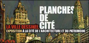 Planches de cité : Exposition « La Ville dessinée »
