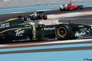 Bilan des Essais Pirelli : Lotus
