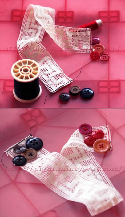 el gant marque page r cup ration en tissu paperblog. Black Bedroom Furniture Sets. Home Design Ideas
