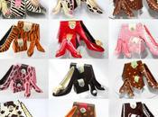 chaussures chocolat croquer