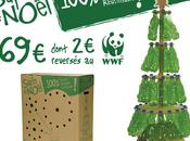 sapin noel écolo, recyclé recyclable