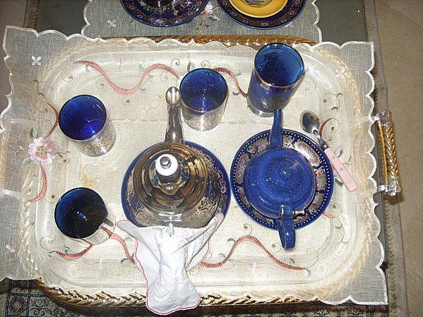 Méloui, crêpes feuilletées et son thé marocain