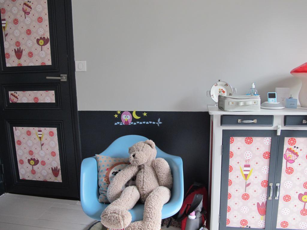 Transformer une commode en joli meuble de chambre d'enfant