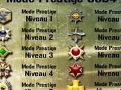 Médailles Mode Prestige Call Duty