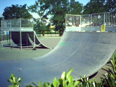 Spot Skatepark Baumette Angers