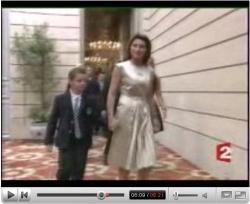 Cecilia et Louis Sarkozy