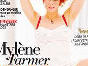 Myléne Farmer fait couverture Paris Match